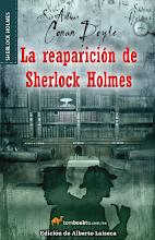 """Photo: Tombooktu Sherlock Holmes  Puedes leer un fragmento del libro aquí: http://b2l.bz/HZFTXD  """"La reaparición de Sherlock Holmes"""" Arthur Conan Doyle Tamaño: 13.5 x 21 Páginas: 336 Formato: Rústica Edición: Primera"""
