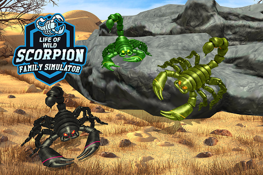 Wild Scorpion Family Jungle Simulator 1.3 screenshots 12