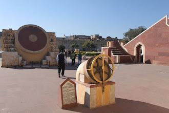 Photo: Jantar Mantar, the famous 18th century astronomical wonder.