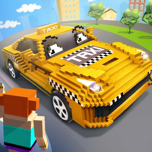 Mr. Blocky City Taxi SIM (game)