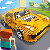 Mr. Blocky City Taxi SIM