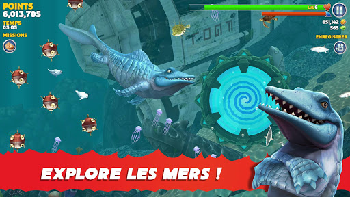 Hungry Shark Evolution fond d'écran 2