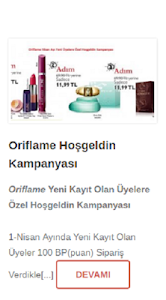 Oriflame Üye screenshot 2