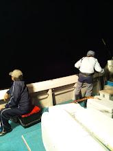 Photo: 日が落ちて「夜タキ」スタート!