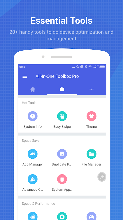 All-In-One Toolbox: Cleaner, Booster, App Manager- screenshot