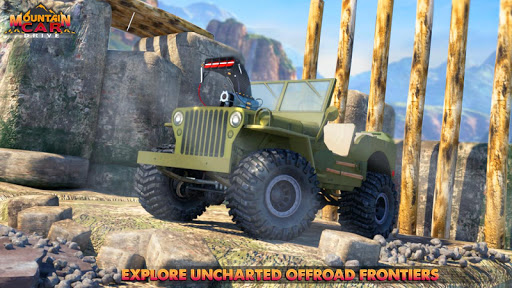 Code Triche Mountain Car Drive 2019 : Offroad Car Driving SUV APK MOD screenshots 1