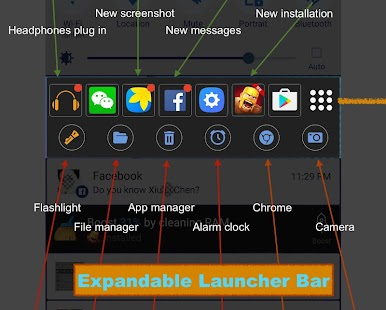 Flash Launcher for android Screenshot