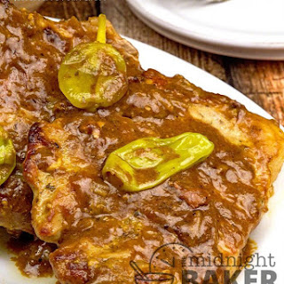 Slow Cooker Mississippi Pork Chops