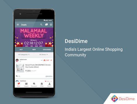 DesiDime - Online Shopping Deals & Coupons image