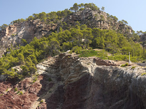 Photo: but the cliffs are quite steep