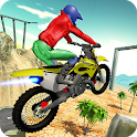 Moto Rider Hill Stunts icon