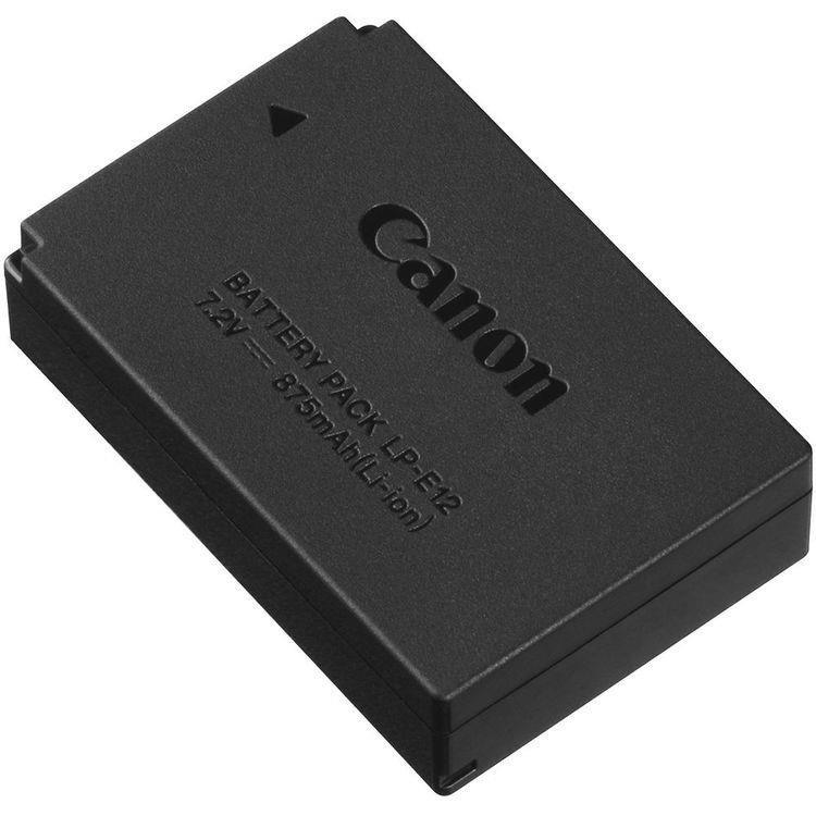 Экстерьер аккумулятора Canon LP-E12