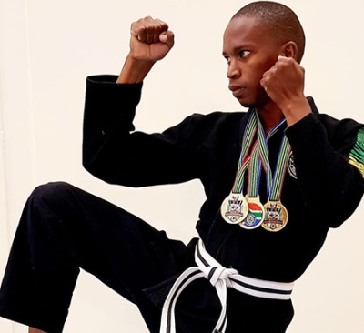 Moses Radebe is a force to be reckoned with when it comes to Jiu-Jitsu.