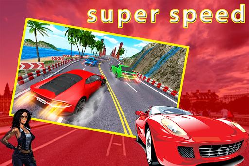 Traffic City Turbo Car Racing