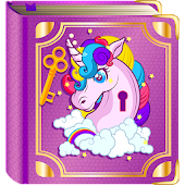 Unicorn Diary with a Lock