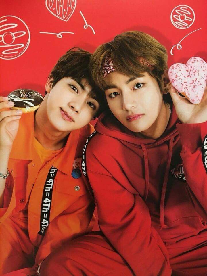 30 Photos Of Bts S Jin And V That Will Bring A Smile To Your Face Koreaboo