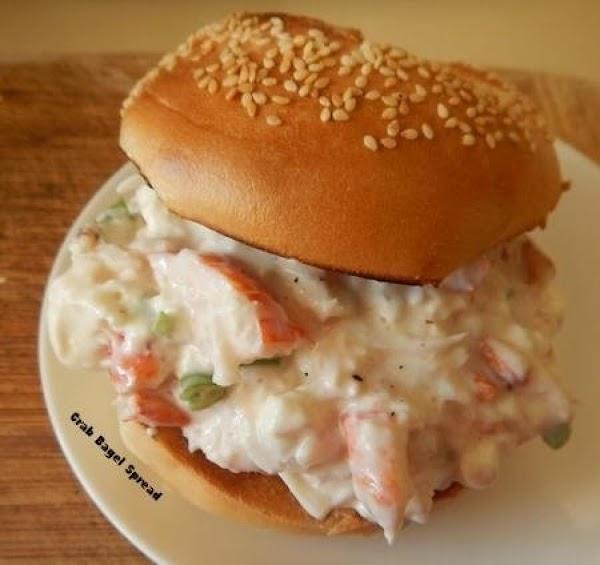 Crab Bagel Spread Recipe