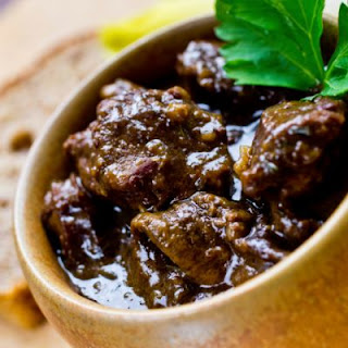 Classic French Beef Bourguignon