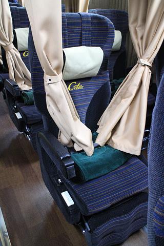 JRバス関東「グランドリーム30号」 H677-14423 シート