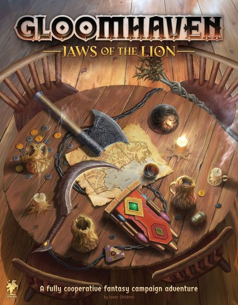 jaws of the lion artwork