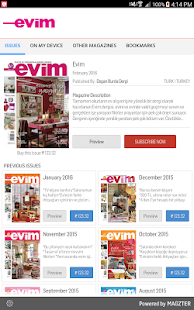 Evim Dergisi- screenshot thumbnail