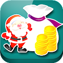 Christmas Coin icon