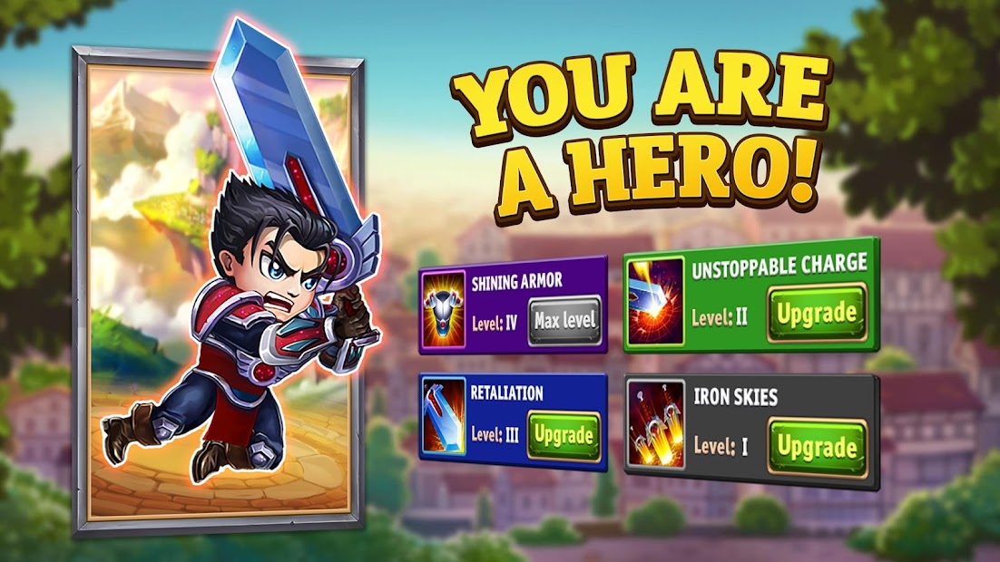 Hero Wars - Men's Choice Epic Fantasy RPG Android App Screenshot