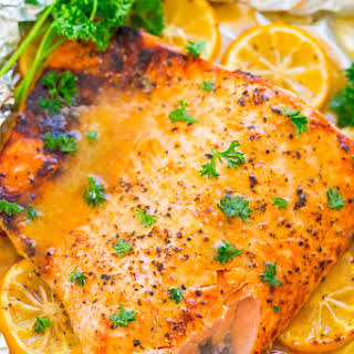 Honey Dijon Salmon.