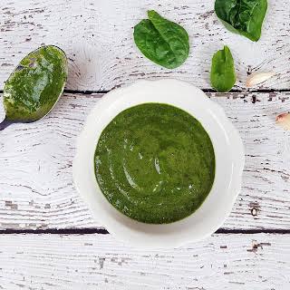 Vegan Nut Free Spinach Pesto.