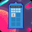 Tardis Crash Doctor Who icon