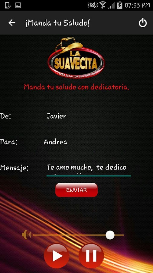 La Suavecita- screenshot