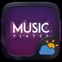 Music Player GO Weather Widget Theme icon