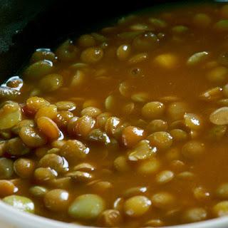 Turmeric Lentil Soup with Coconut Milk