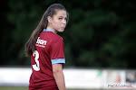 Jong talent (en kapitein) van KRC Genk Ladies verkozen tot speelster van de maand