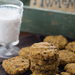 Pumpkin chocolate chip oatmeal cookies - Gluten free