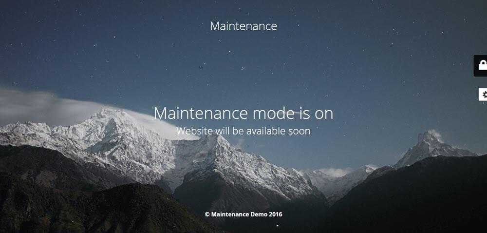 Maintenance-Plugin-bao-tri-WordPress