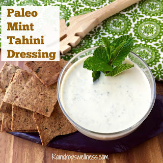 Healthy Tahini Salad Dressing