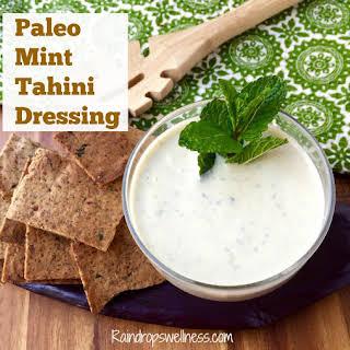 Healthy Tahini Salad Dressing.