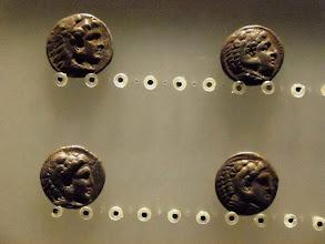 Photo: Alexander coins .......... Alexander munten