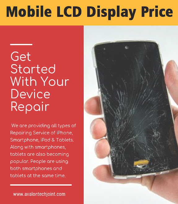 Mobile LCD Display Price