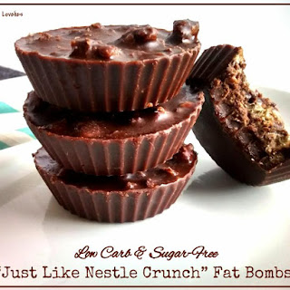 """""""Just Like Nestle Crunch"""" Fat Bombs"""