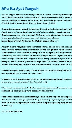 Ruqyah Pendinding Ampuh{MP3} 1.0 screenshot 2092584