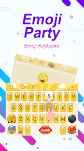 Emoji Party Theme&Emoji Keyboard - náhled