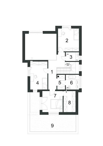 Dynamiczny D22 - Rzut piętra