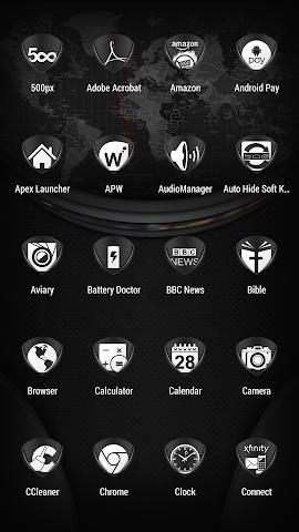 android Tuck It W - Icon Pack Screenshot 1