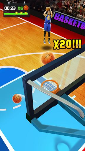 Basketball Tournament - Free Throw Game 1.2.0 screenshots 9