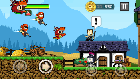 DAN THE MAN MOD APK ACYION PLATFORMER DOWNLOAD FREE HACKED VERSION 5