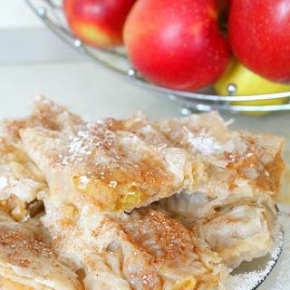 Filo Pastry Apple Pie.