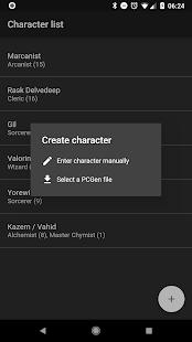 Spell Tracker: Pathfinder RPG companion tool - náhled