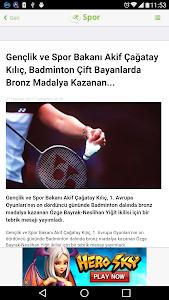 Spor Haberleri screenshot 7